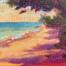 Secret Beach painting by Stephanie Schlatter